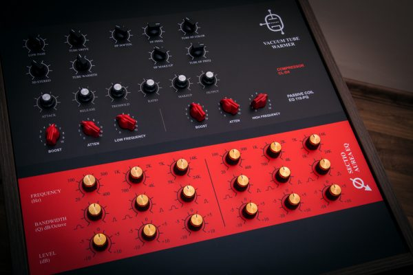 Custom analog mastering equalizer