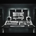 Mastering Studio B1 - equipped with traditional hardware