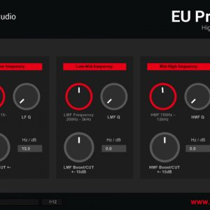 EU ProMixEQ-10A VST Freeware mixing equalizer