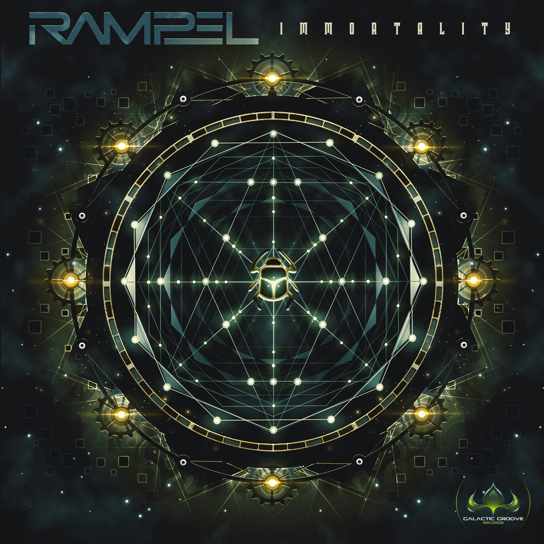 RAMPEL - IMMORTALITY (Galactic groove records, Psytrance Mastering, Onlinemasteringstudio.eu)