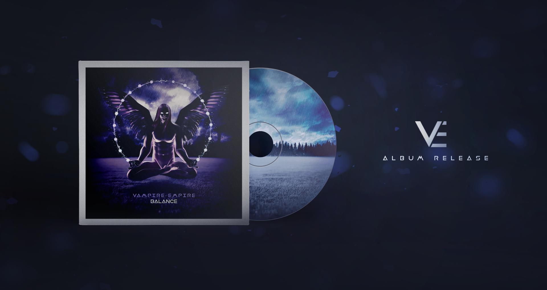 Vampire Empire - Balance - Album Release Cover